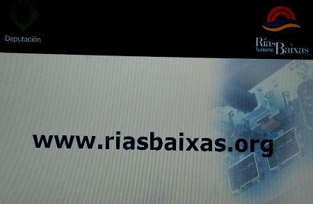 La nueva web de Turismo Rías Baixas es más visual e interactiva que la anterior