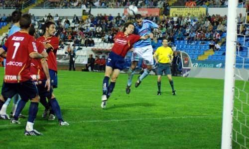 El Albacete no pudo con el Celta en casa.