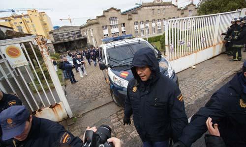 La policía tuvo que acudir al 'rescate' del gerente de Alfageme.