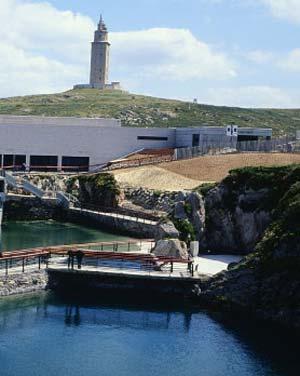 O Aquarium Finisterrae de A Coruña.