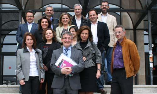 Jaime Cabeza presentó su candidatura en el campus de Ourense.