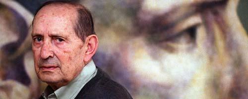 El literato vallisoletano Miguel Delibes.