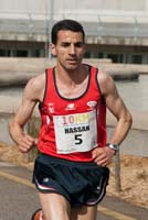 O atleta marroquí Hassan Lekhili.