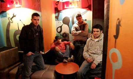 La banda viguesa Los marcianos presenta su disco 'Esto va en serio'.