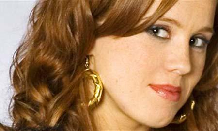 La actriz viguesa María Castro.
