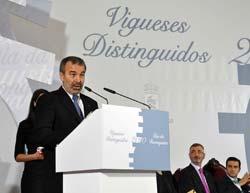 O rector da Universidade de Vigo, Alberto Gago.