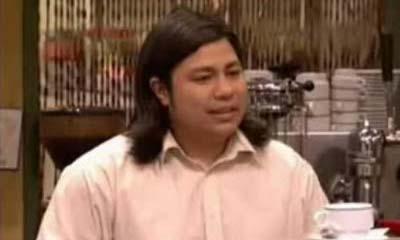 Óscar Reyes, 'Machu Pichu' en la serie Aída, es el prototipo de trabajador ilegal en Pontevedra.