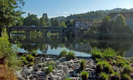 El río Vez.