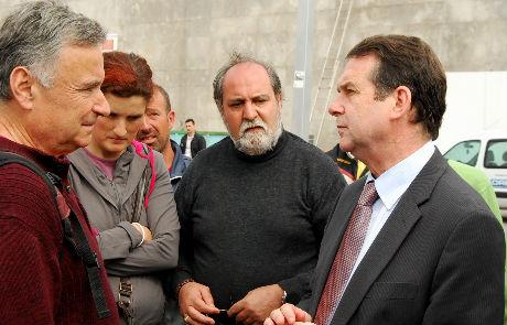 El alcalde de Vigo con miembros del IMAN