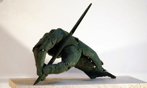 La Mano de Cervantes, de Cándido Pazos.