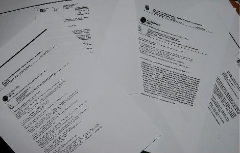 Copias de las convocatorias y de la confirmación de las mismas,por correo electrónico, desde el Concello de Vigo