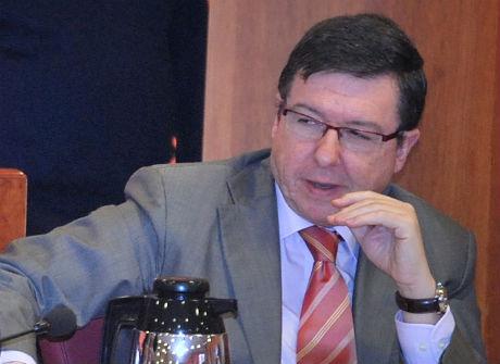 El concelleiro de Xestión durante un Pleno reciente