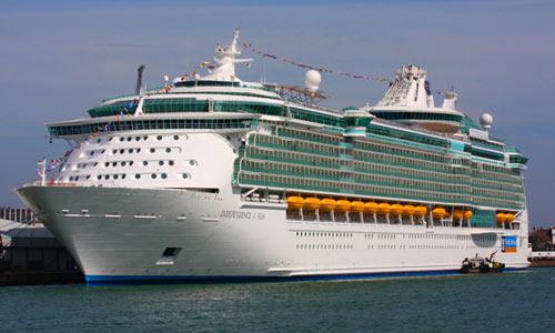 El 'Independence of the Seas' nos visitará dos veces en una semana.