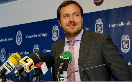 El delegado de Urbanismo del Concello, José Mariño