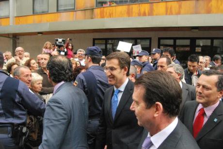 Protesta Feijoo Vigo/tresyuno Comunicación