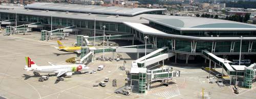 El Sáa Carneiro, principal competidor de los aeropuertos gallegos.
