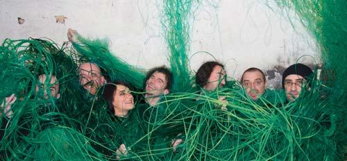 O grupo galego Berrogüetto. Foto: Karlos Abal.