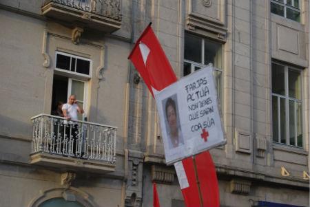 Manifestación hospital Cruz Roja Vigo/Tresyuno Comunicación