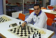 Jaime García Bernárdez, xogador do Universidade de xadrez.