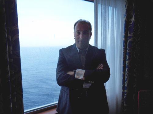 Luis Otero, responsable de 'Embárcate con Vigo' y Viajes LOA.