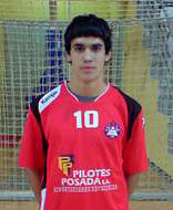 O xogador do Octavio Pablo Cacheda.