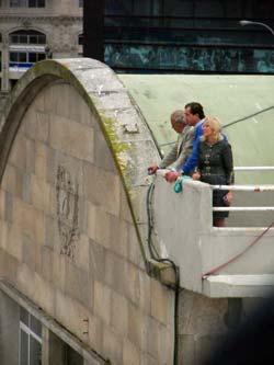 La presidenta del Puerto de Vigo despide al Grand Voyager/Tresyuno Comunicación