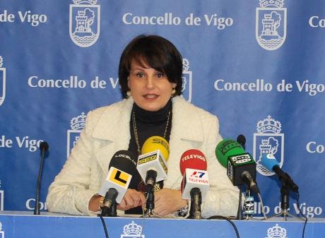 Raquel Díaz, concelleira de Facenda