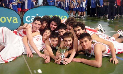 A Selección Precadete de Vigo, campiona da serie A masculina.