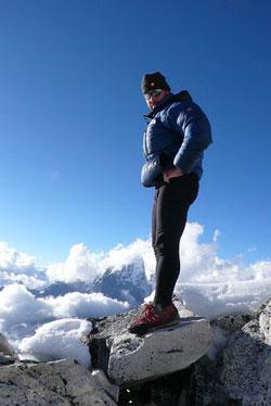 El montañero Tolo Calafat.