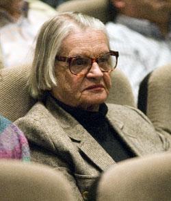 A escritora María do Carme Kruckenberg.