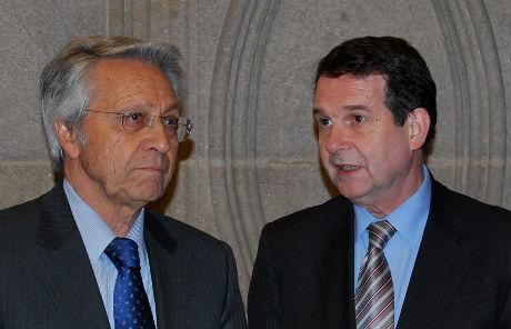 Julio Fernández Gayoso y Abel Caballero/Tresyuno Comunicación