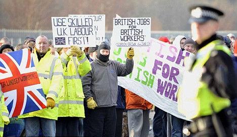 Sindicatos ingleses