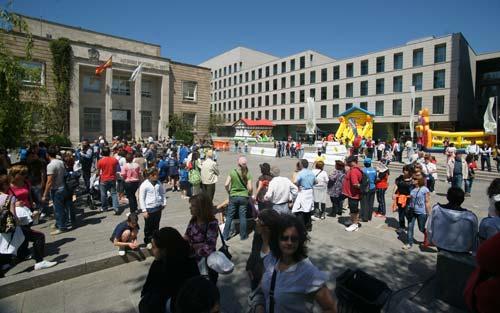Miles de persoas reuníronse na Praza da Estrela.