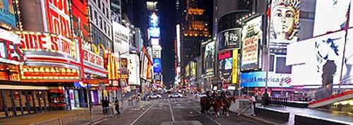La céntrica y turística Times Square fue desalojada.