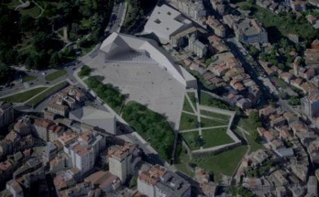Recreación del Proyecto Moeneo para la Praza do Rei