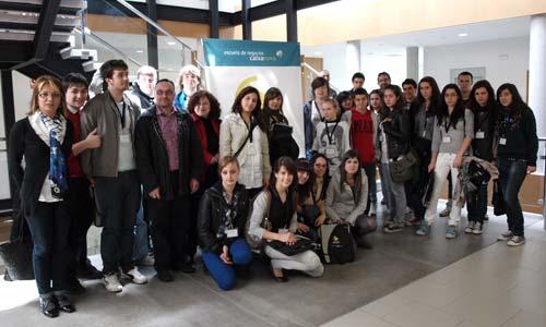 Los participantes en el 'Play! 2010'.
