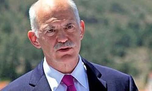 El primer ministro griego, Georgios Papandreu.