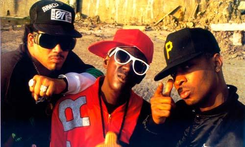 El grupo de hip hop Public Enemy.