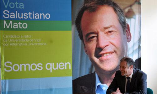 Salustiano Mato sucederá a Alberto Gago ao frente da Universidade.