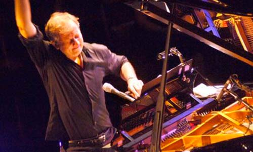 El pianista belga Wim Mertens.
