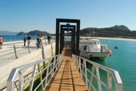 Cíes.Nuevo Puerto de Rodas/Tresyuno Comunicación