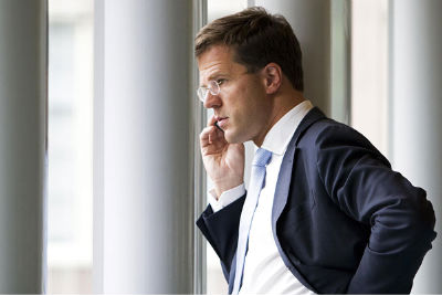 El nuevo primer ministro, Mark Rutte, tiene sólo 43 años