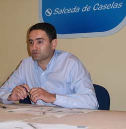 O portavoz do PP de Salceda, Rodríguez Davila.