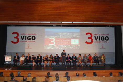 Tercer Aniversario Gobioerno de Vigo/Tresyuno Comunicación