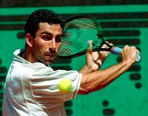 El capitán de la Copa Davis, Albert Costa.