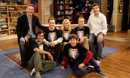 Los protagonistas de la serie de la CBS.