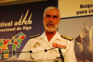 El almirante Bolíbar, presentó hoy los actos que celebrará la Armada en Vigo
