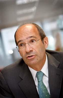 El ministro de Trabajo francés, Eric Woerth.
