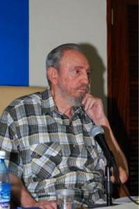 Fidel, hace unos días en un medio de comunicación cubano