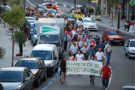 Manifestación Pizarro/Tresyuno Comunicación